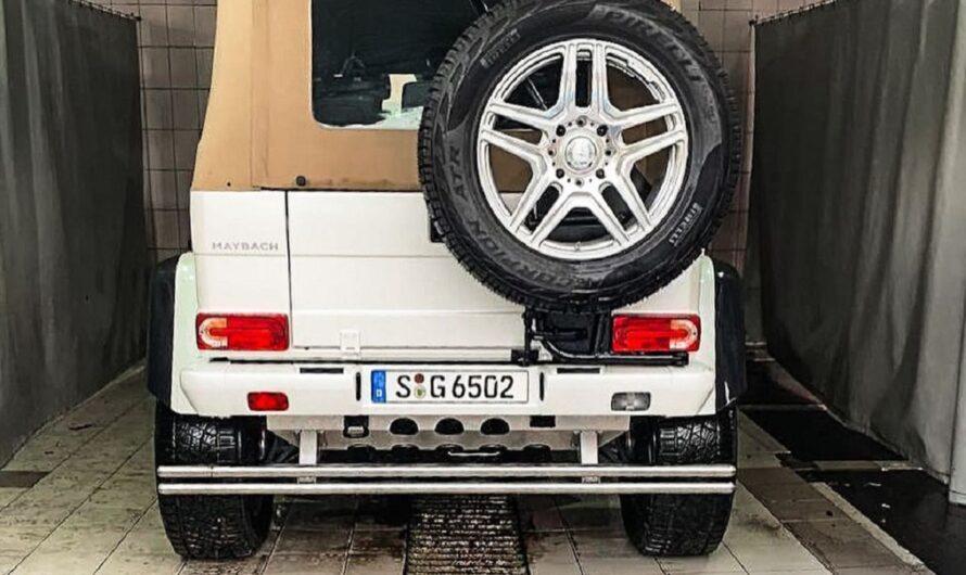 В Украину привезли самый дорогой внедорожник на планете