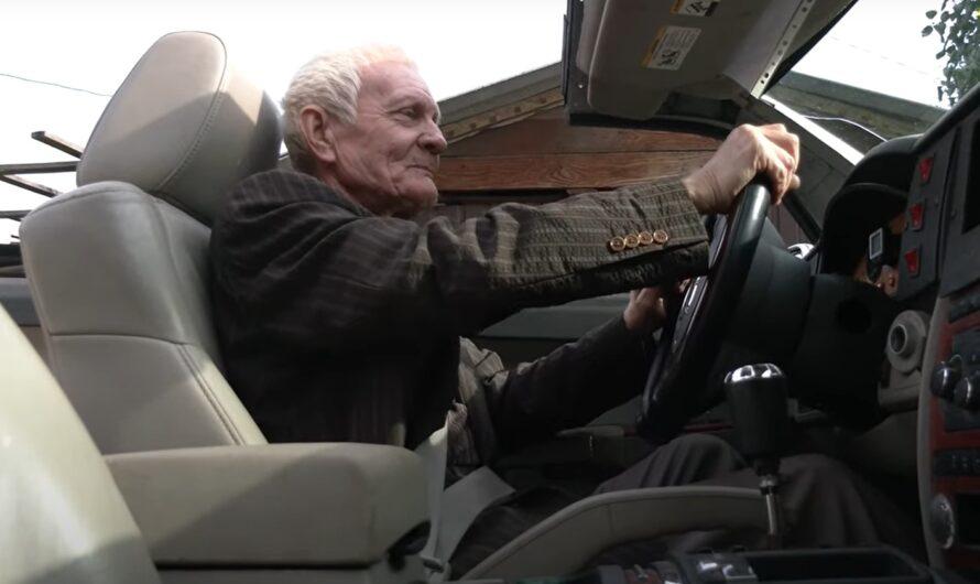 70-летний пенсионер рассказал про самодельный кабриолет Jeep (видео)